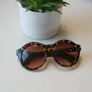 Super Cute Round Tortoise Glasses